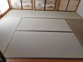 畳の仕上がりに満足