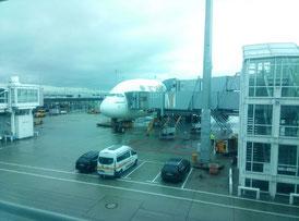 Emirates A380 nach Dubai