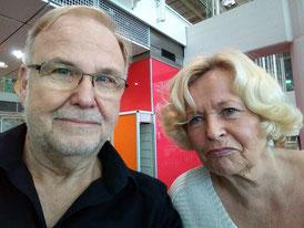 Selfie am Flughafen