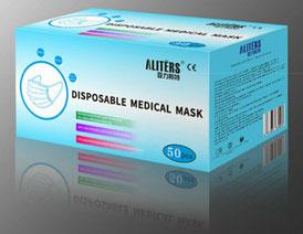 Disposable Medical mask(使い捨て医療用マスク)