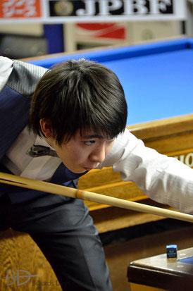 ルーキーの森雄介(JPBF)は5位タイ
