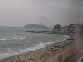 鎌倉由比ヶ浜の海岸