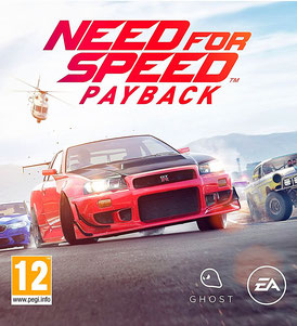 Need for Speed: Payback - Cover