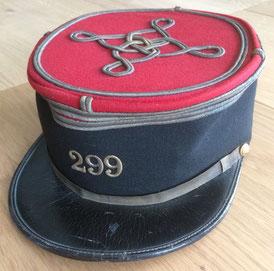 Képi de lieutenant modèle 1910 (Coll. priv. 001)
