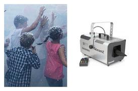 schiumaparty per feste bambini a roma
