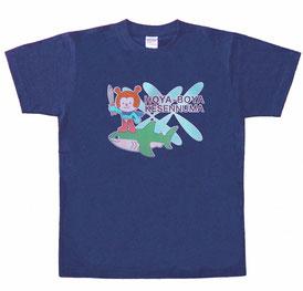 ホヤぼーや Tシャツ_ネイビー