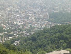 大倉山から見た札幌の風景 その1