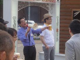 浦田代表理事の乾杯の挨拶