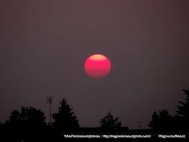 Soleil rouge...RLM 2013