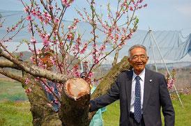 今年の春、視察に訪れた木村秋則氏