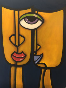 We Are One 50 x 70 Acryl   Art Gallery 24