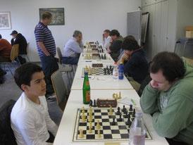 Vorne links: Leon Hacklinger
