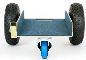 TS Allround 250 Air Glastransportwagen bis 250 kg Tragkraft und einer Nutzbreite von 255 mm transportsolution Plattentransportwagen, Glaswagen, Glastransportwagen, Glas-Transportwagen, Glas, Transportwagen, Transporthilfe, Scheibenwagen, Plattenwagen