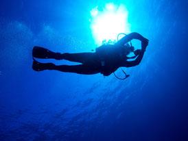 Spécialité Padi plongée profonde à Bali
