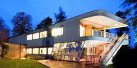 Haus des Fabrikanten Schminke Fabrikantenwohnhaus in der sächsischen Kleinstadt Löbau