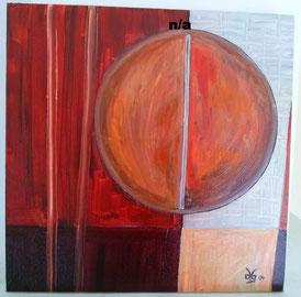 Red Sun 1 2004 (Öl) 50x50.... nicht mehr verfügbar