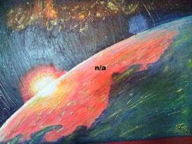 Space Series 2 2016 (Acryl) 70x50... nicht mehr verfügbar