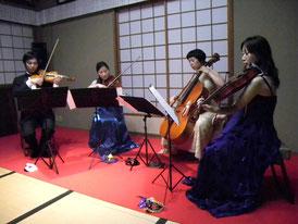 弦楽四重奏によるコンサート