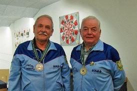 unsere beiden erfolgreichen Schützen: Georg Macek und Josef Kessler