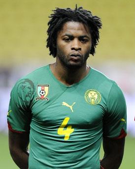 Alex SONG sous le maillot du Cameroun