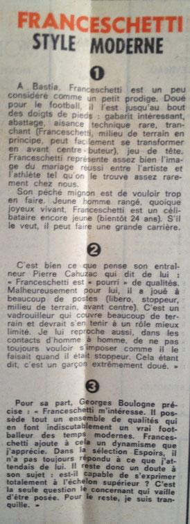 Vu par P.CAHUZAC et Georges BOULOGNE