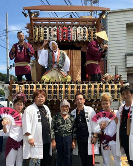Japanese Festival Car(parade float) and Japanese Festival Music Performance, Suiki Kai
