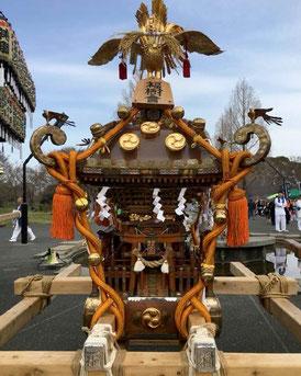 """Mikoshi, Fukujyu-kai, Hibiya Oedo Matsuri """"Matsuri Parade"""""""