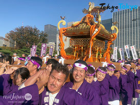 国民祭典 奉祝まつり, 令和元年 11月9日(土), 皇居前, 神輿パレード, 八丈神社神輿