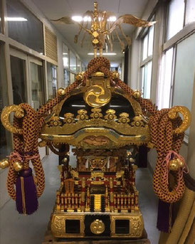 """Mikoshi, Tokyo-Jinjacho, Hibiya Oedo Matsuri """"Matsuri Parade"""""""
