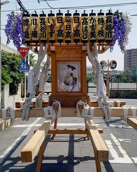 """Mikoshi, Nijyusan-nen-kai, Hibiya Oedo Matsuri """"Matsuri Parade"""""""