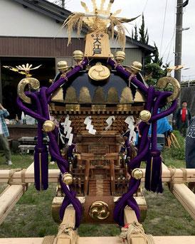 """Mikoshi, Shimajiri Residents' Association, Hibiya Oedo Matsuri """"Matsuri Parade"""""""