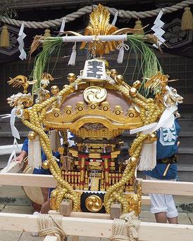 東本町, お神輿, 台輪寸法1尺8寸, 日比谷大江戸まつり参加神輿