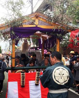 お囃子, 獅子舞, 太子堂西山囃子, 日比谷大江戸まつり, 祭りパレード
