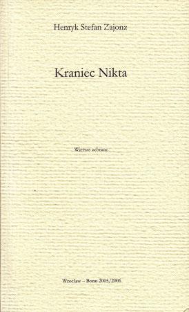 Gedichte, polnisch, Deutsch-Polnisches Jahr 2005/06 Hrsg. Jan Stolarczyk  & Wydawnictwo MarMar, Breslau-Bonn, 2005/06
