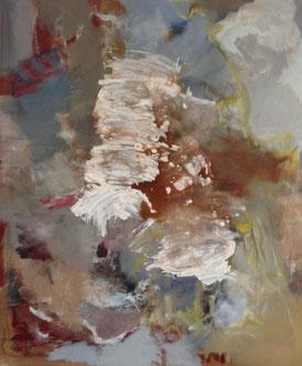 o.T., 2014, Acryl auf Leinwand, 120 x 100 cm