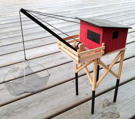 carrelet maquette royan fouras charente-maritime construire modèle réduit