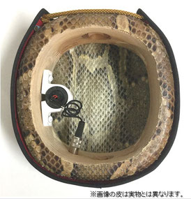 エレキ三線のチーガの内部の画像
