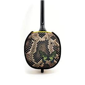 デザイン三線アゲハ蝶の画像裏