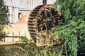 Eltzer Mühle - das Wasserrad