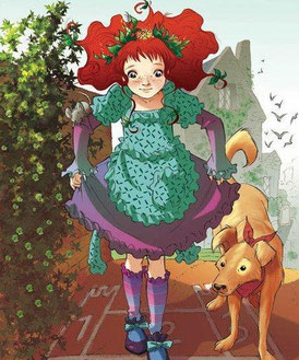 "Shirley Poppy, personaje de ""Fairy Oak"""