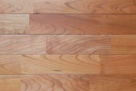 アメリカンブラックチェリー 乱尺 オイル塗装 無垢フローリング アンドウッド 新潟