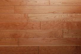 アメリカンブラックチェリー 単板 オイル塗装 無垢フローリング アンドウッド andwood 新潟