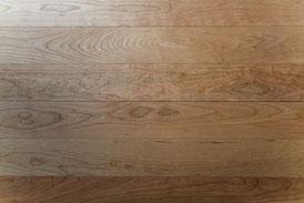 アメリカンブラックチェリー 単板 オイル塗装 無垢フローリング アンドウッド 新潟
