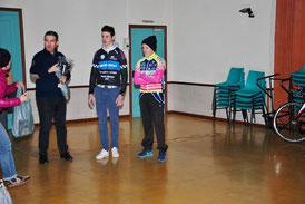 1er place pour Quentin Bonzom à Eycheil (09) le 6/3/16