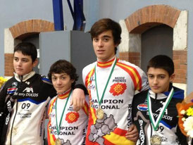 Oscar Escaich & Max Moncassin Cyclo-cross à Eauze (32)
