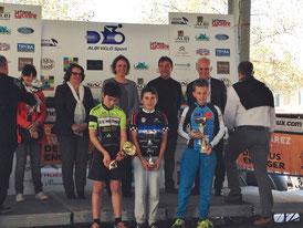 1er place pour Loïs Saubere au trophée d'Albi (81) le 10/4/2016