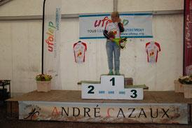 1er Séverine Zangehrie Ch Ariège VTT 2015 à Saint Lizier (09)