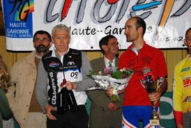 2ème Didier Carré au tour du canton du Fousseret (31) 2013
