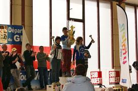 2 ème Severine Zangherie Challenge VTT de la Loumagne (32) -2013