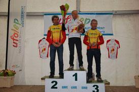 1er Jean-Paul Evain Ch Ariège VTT 2015 à Saint Lizier (09)